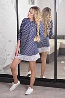 Платье Слава-стрейч-коттон