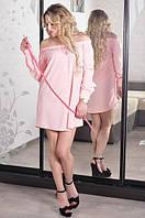 Платье Мила-стрейч-вискоза