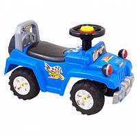 Машинка-каталка Alexis-Babymix HZ-553 Blue