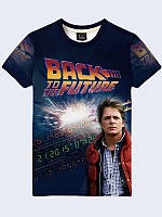 3D-футболка Back to the Future Marty