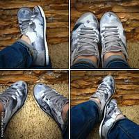 Легкие, летние, серые кроссовки