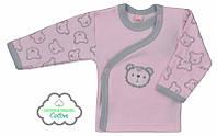 """Распашонка детская """"Misiaki"""", р.62, цвет: розовый с серым"""