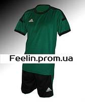 Футбольная форма игровая Adidas (Адидаc зеленая\черная)