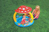 Детский Надувной Бассейн Грибок с навесом Intex 57407