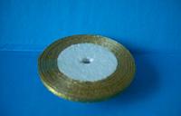 Лента парча 0,5 см. золото
