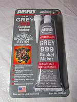 Герметик автомобильный серый ABRO 999