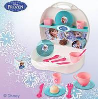 Чемоданчик с набором посуды Frozen Smoby 24096
