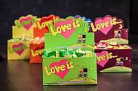 Жвачки Love is Яблоко-Лимон оригинал с Турции