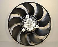 Вентилятор радиатора в диффузоре на Renault Master II 1998->2010 — Renault (Оригинал) - 7701209232