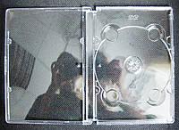 Футляр для 1-го DVD-диска прозрачный Jewel