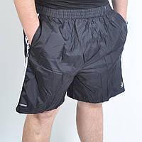 Мужские шорты в больших размерах черного цвета
