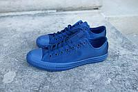 Кеды мужские Converse Chuck Taylor All Star Low Mono Blue в синем цвете низкие