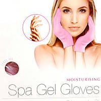 Косметические увлажняющие перчатки Spa Gel Gloves для смягчения кожи рук