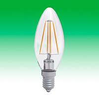 Светодиодная лампа LED 4W 3000K E14 ELECTRUM LC-4F (A-LC-0413)