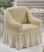 Чехол на кресло Arya Burumcuk натуральный