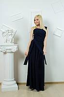 Длинное платье в горошек, фото 1