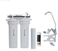 Фильтр для воды под мойку трёхступенчатый с UV установкой FP-2-UV