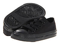 Детские кеды Converse Chuck Taylor All Star Low Mono Black (конверсы оригинал)
