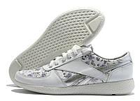 Туфли женские Fabio Gutti белые с цветочным принтом