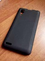 Чехол-накладка Lenovo P780 черная