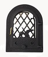Стеклянная дверка для печи - VVK 35х47см/27 х 38см