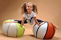 Бескаркасная мебель Кресло-мяч баскетбол мягкий пуф