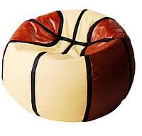 Кресло мяч пуф мешок баскетбол бескаркасная мебель детская