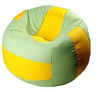 Бескаркасное Кресло мяч пуф волейбол мешок мягкий