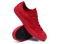 Детские кеды Converse Chuck Taylor All Star (конверс, конверсы оригинал) красные