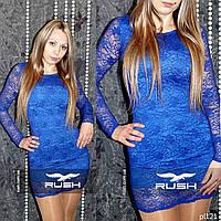 Ультра-модное гипюровое платье