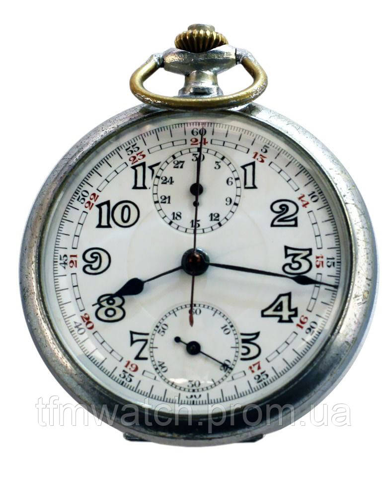 Kriegsmarine карманные часы. KM. Хронограф KM