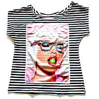Женская футболка на лето Чупс