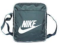 Большая мужская сумка через плечо Nike (П-09)