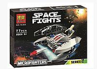 Конструктор Bela 10360 аналог LEGO Star Wars Дроид-Стервятник 77 деталей