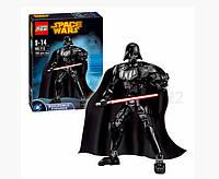 Конструктор Ksz 713 Звездные Войны аналог LEGO Star Wars Дарт Вейдер 160 деталей