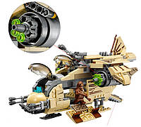 Конструктор Bela 10377 аналог LEGO Star Wars Боевой корабль Вуки, 569 дет