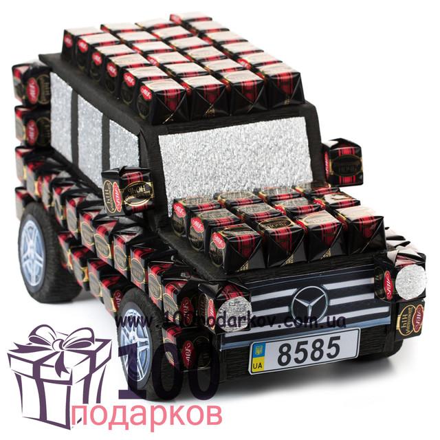 Машины из конфет