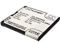 Аккумулятор для Nokia N86 1200 mAh