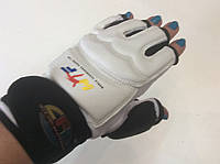 Накладки (перчатки) для таэквондо WTF с фиксатором запястья размер M