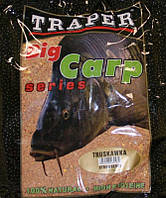 Прикормка Traper серия Big Carp Truskawka (Клубника)  1 кг.
