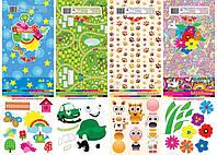 Набор цветной бумаги A4 10 цветов 50 листов Тетрада Мрійник