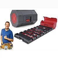 Удобный ящик – органайзер для инструментов Ролл енд Стор, Roll-n-Store