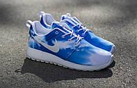 Кроссовки Мужские Nike Roshe Run Print Sunset