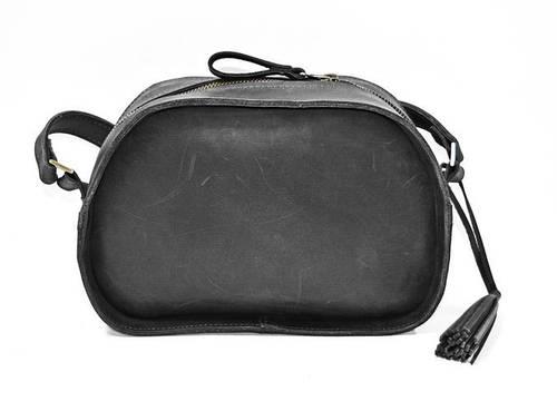 Классическая женская сумка из натуральной кожи GBAGS B.0006-СН черный