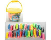 Набор для лепки с пластилина в ведерке 24 цвета