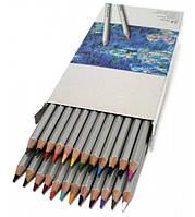 Карандаши цветные Marco Раффин картон  12 цв