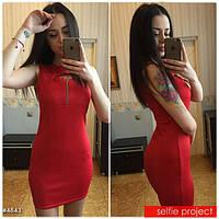 Стильное женское  платье трикотаж Jastin лето 2016
