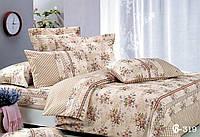 Двуспальное постельное белье Тет-А-Тет (нестандарт) В-319 бязь