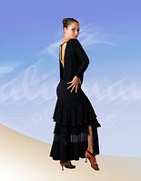 Костюм для Стандарта:юбка ЮС-144+блузка БЛ-147/1 (в наличии блуза р.46)