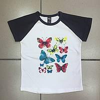 Детская одежда оптом Футболка для девочек оптом р.2-9 лет